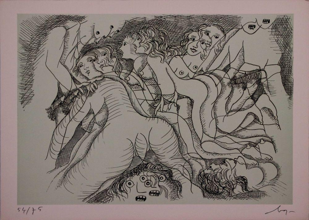 Engraving Baj - Erotica III