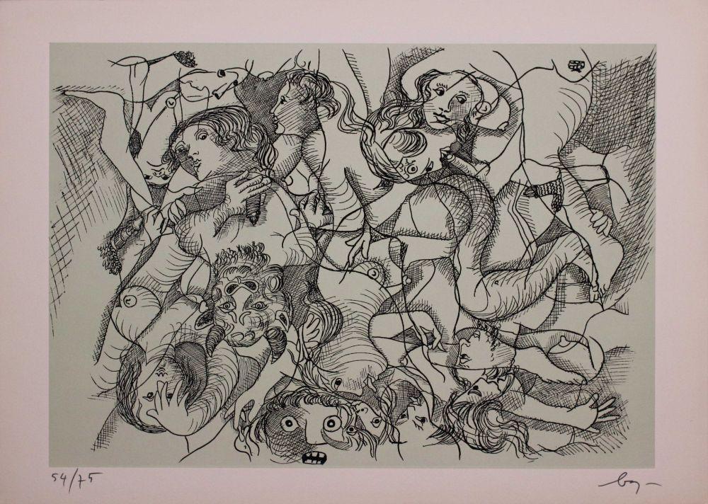 Engraving Baj - Erotica IV