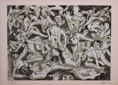 Engraving Baj - Erotica VIII