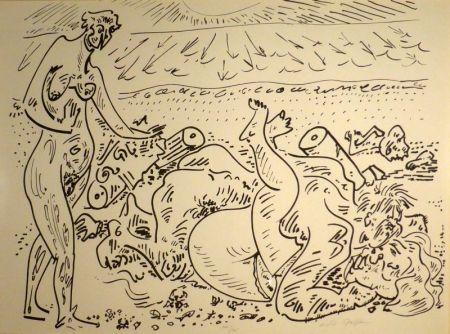 Lithograph Masson - (Erotique)
