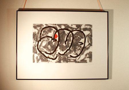 Engraving Canogar - Escena urbana nº 4-90