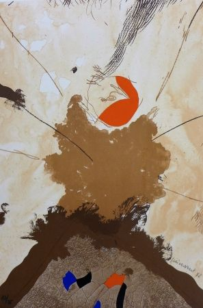 Lithograph Guinovart - Esclat ocell