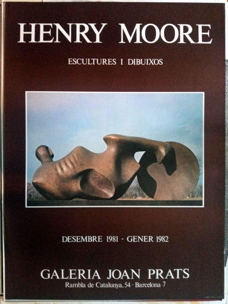 Poster Moore - Escultures i Dibuixos