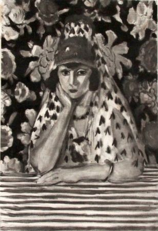 Etching Matisse - Espagnole