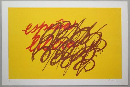 Lithograph Turcato - Espana libera
