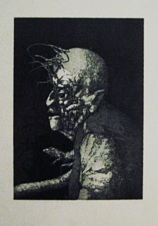 Etching And Aquatint Hernandez - Espectro del miedo