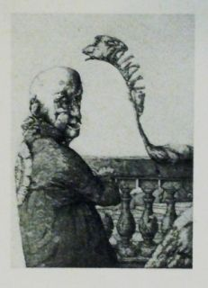Etching And Aquatint Hernandez - Espiritu arruinado