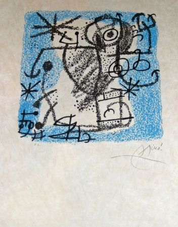 Lithograph Miró - Essences de la terra