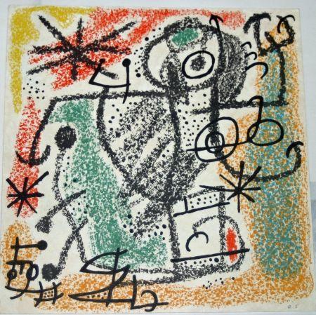 Lithograph Miró - Essences de la terra BAT