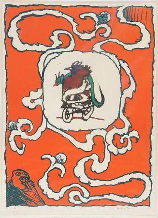 Lithograph Alechinsky - Estampe de l'affiche