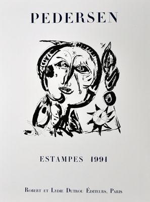 Poster Pedersen - Estampes 1991
