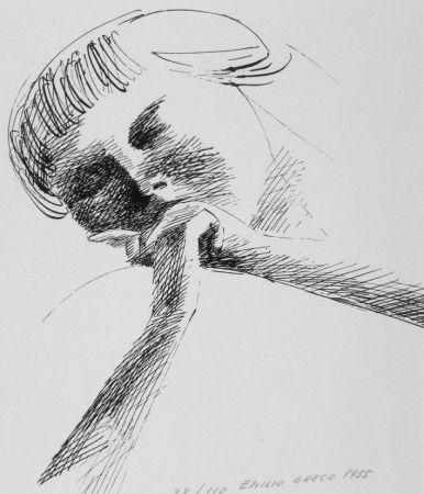 Lithograph Greco - Estasi n.2
