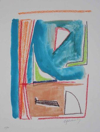 Lithograph Ràfols Casamada - Estructures 2