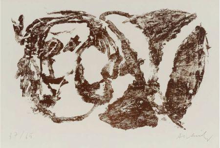 Lithograph Alechinsky - Et ...