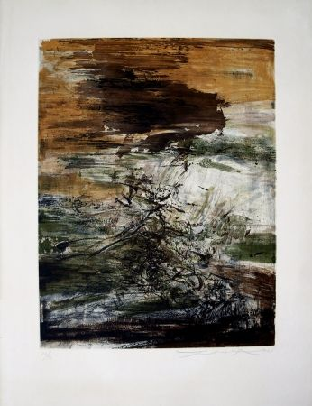 Etching Zao - ETCHING WITH AQUATINT - 160