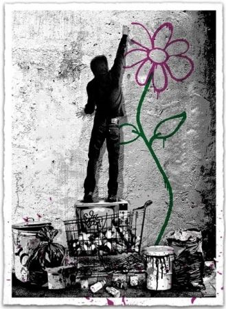 Screenprint Mr. Brainwash - Eternity