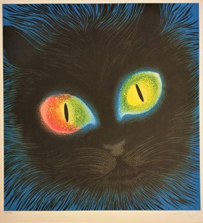 Lithograph Vasarely - Etude de Lumiére