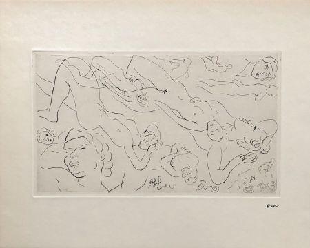 Etching Matisse - Etude de nu