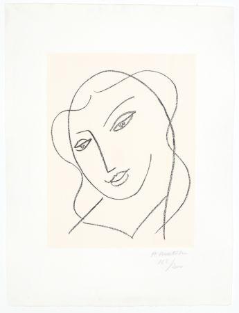Lithograph Matisse - Etude pour la Vierge,