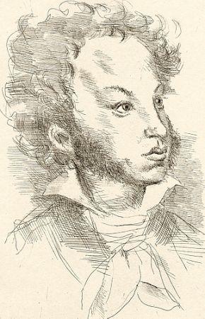 Illustrated Book Calandri - Eugenio Onieghin