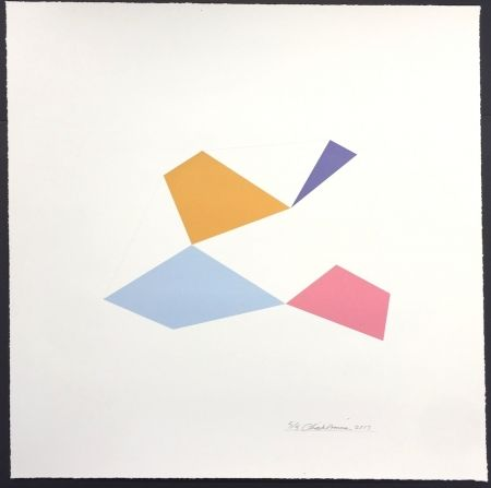 Screenprint Hinman - Excelsior, from Kites Suite