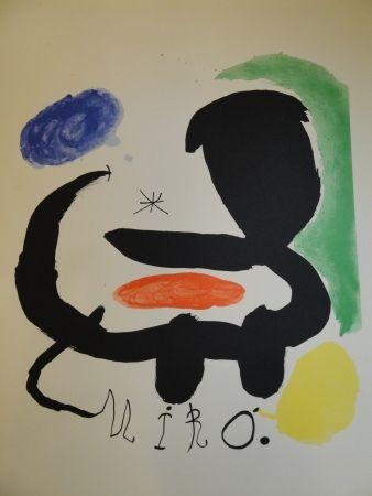 Lithograph Miró - Exhibition