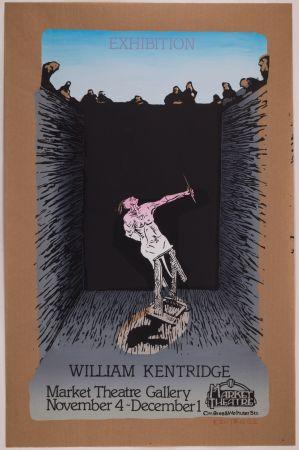 Screenprint Kentridge - Exhibition William Kentridge (Pit Monotypes)