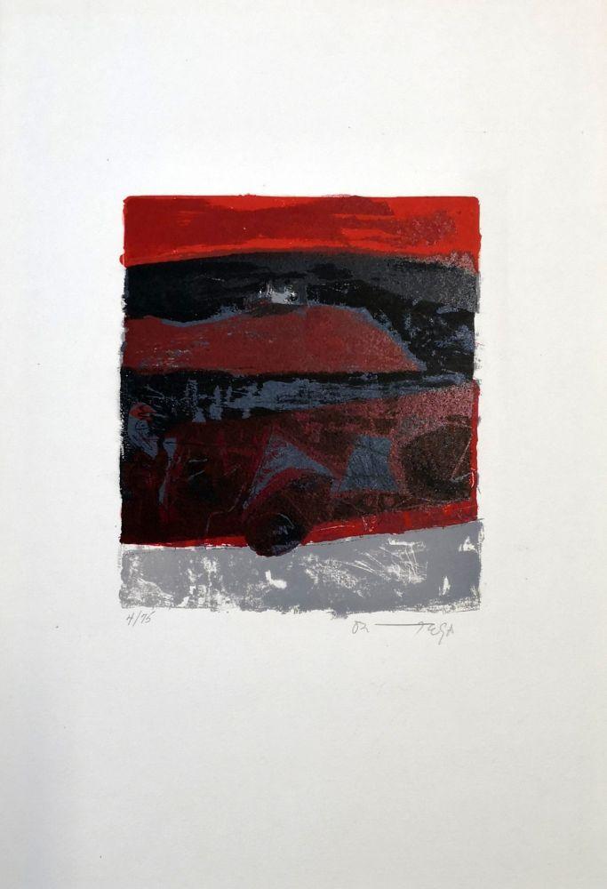 Lithograph Ortega - Exodus