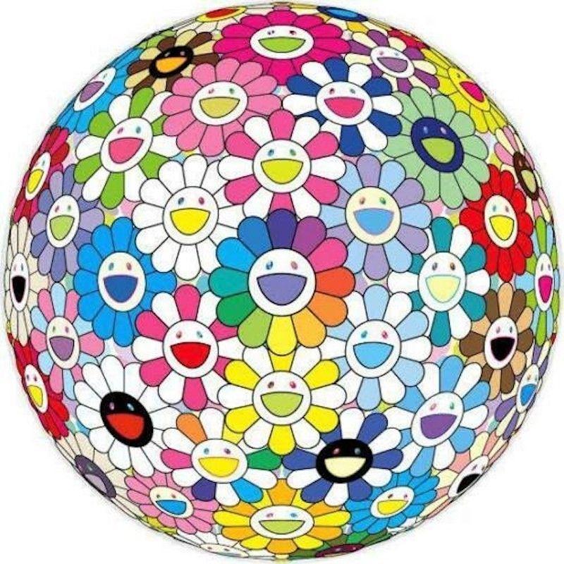 Lithograph Murakami - Expanding Universe