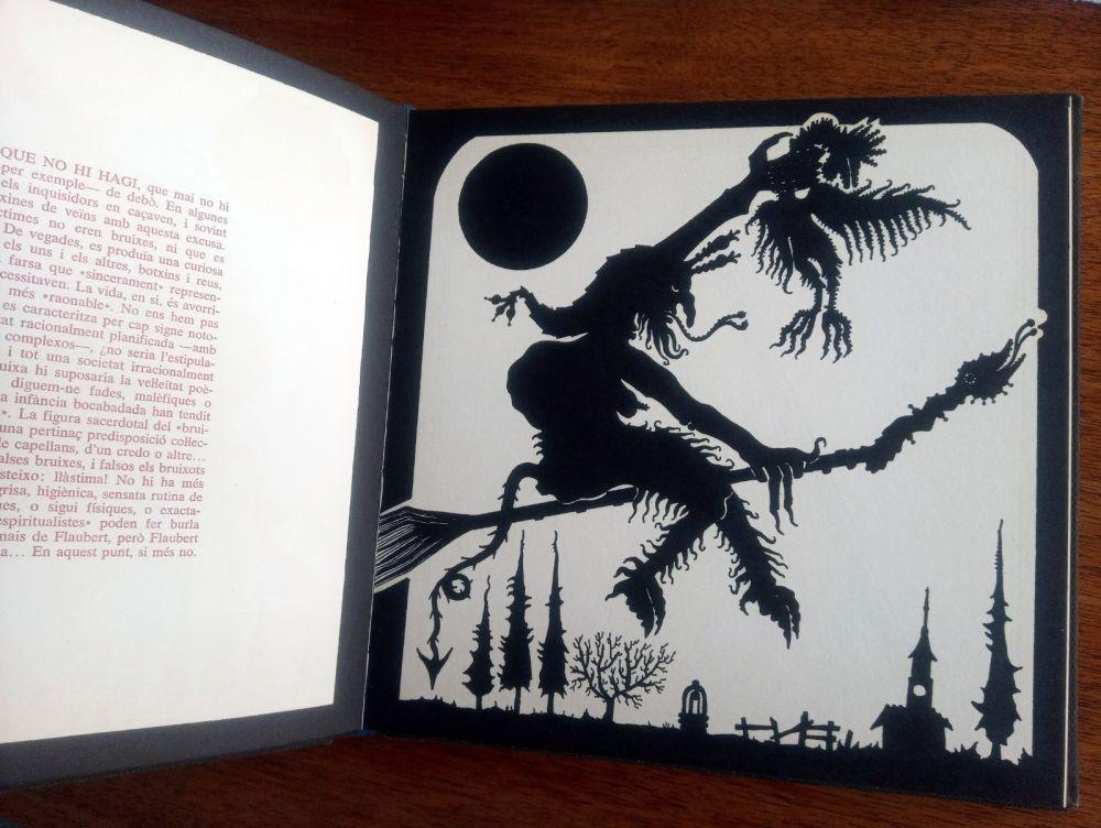 Illustrated Book Ponç - Exploracio de l'ombra - Joan Fuster / Joan Ponç