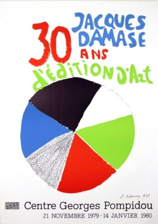 Lithograph Delaunay - Expo J Damasse 30 Ans d'Edition d'Art