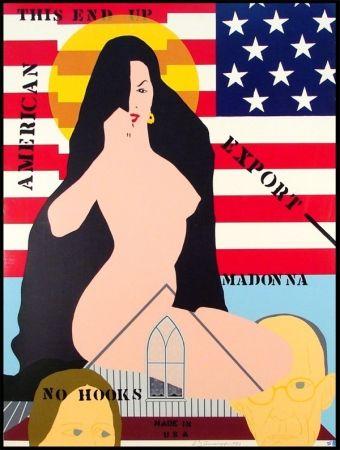 Screenprint D'arcangelo - Export Madonna
