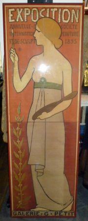 Poster Réalier-Dumas - Exposition annuelle de peinture et de scupture
