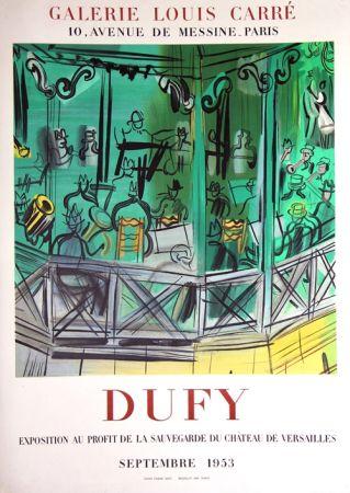 Lithograph Dufy - Exposition au Profit de la Sauvegarde du Chateau de Versailles