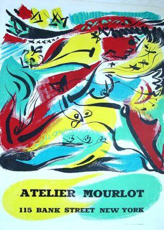 Lithograph Masson - '' Exposition chez Mourlot NYC ''
