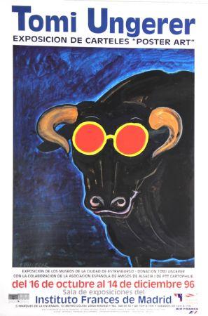 Offset Ungerer - Exposition de Carteles Poster Art Madrid  1996
