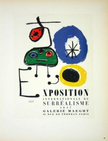 No Technical Miró - Exposition du Surréalisme  Galerie Maeght 1947
