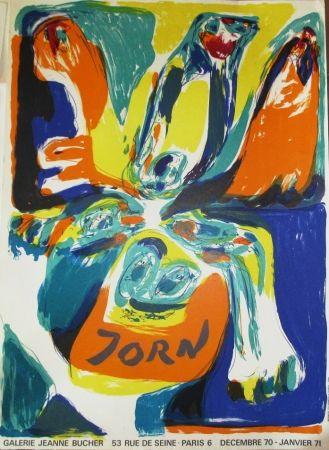 Poster Jorn - Exposition Galerie Jeanne Bucher 70-71