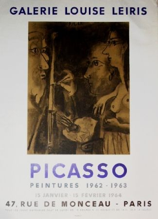 Poster Picasso - Exposition Louise Leiris