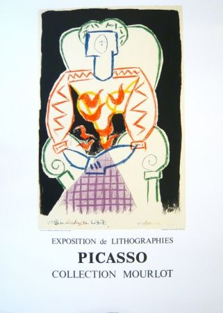 Poster Picasso - Exposition Picasso Mourlot 1