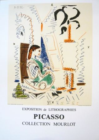Poster Picasso - Exposition Picasso Mourlot 2