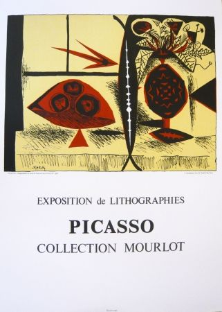 Poster Picasso - Exposition Picasso Mourlot 3