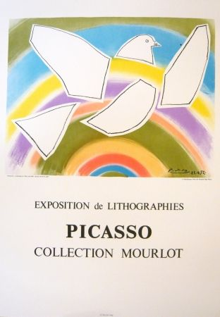 Poster Picasso - Exposition Picasso Mourlot 4
