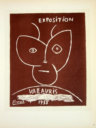 Lithograph Picasso (After) - Exposition  Vallauris