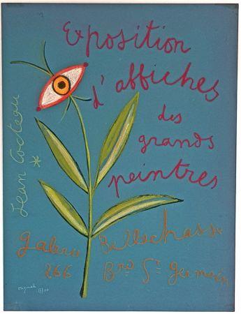 Lithograph Cocteau - Expositions D'affiches des Grands Peintre