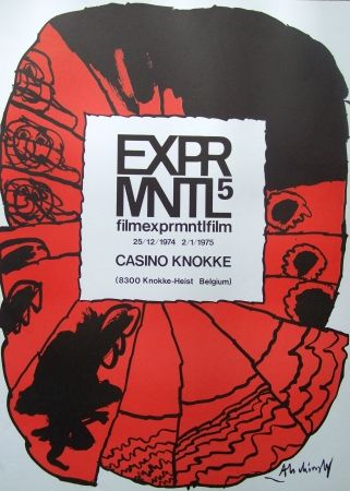 Poster Alechinsky - Exprmntl 5