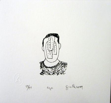 Screenprint Gronk - Eye