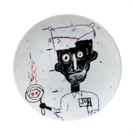 Multiple Basquiat - Eyes & eggs