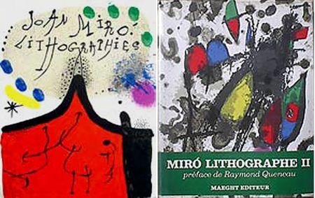 Illustrated Book Miró - F. Mourlot. - P. Cramer: MIRO LITHOGRAPHE I - IV. 1930 - 1972 (catalogue raisonné des lithographies 1930-1972)