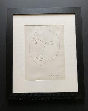 Lithograph Matisse - Facing Woman
